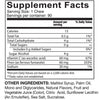 Supplement facts for Celebrate's iron with vitamin c soft chews in Twisted Citrus flavor in a 90 count container