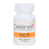 Picture of Celebrate's iron c in 45 mg capsules in a 30 count bottle