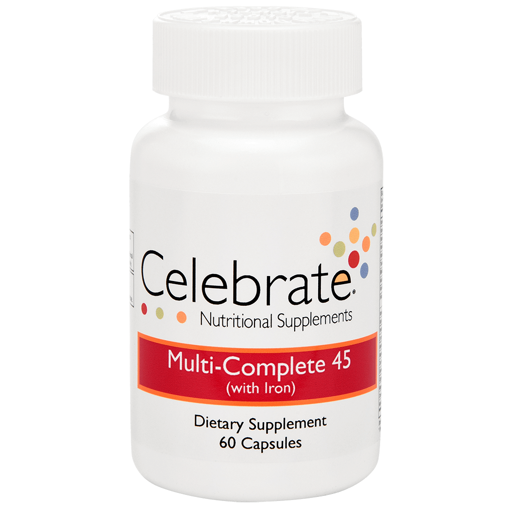 Product image of Celebrate Vitamin's multi complete with iron capsules - 60 count