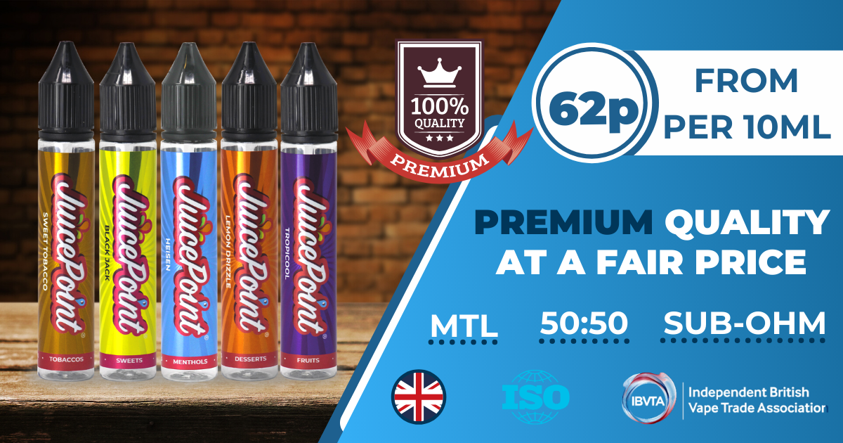 JuicePoint Vape Banner