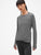 GapFit Long Sleeve Tulip-Front Top in Brushed Tech Jersey