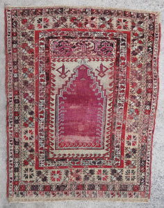 Turkish Anatolian rug Kirsehir
