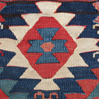 Persian kilim bag face