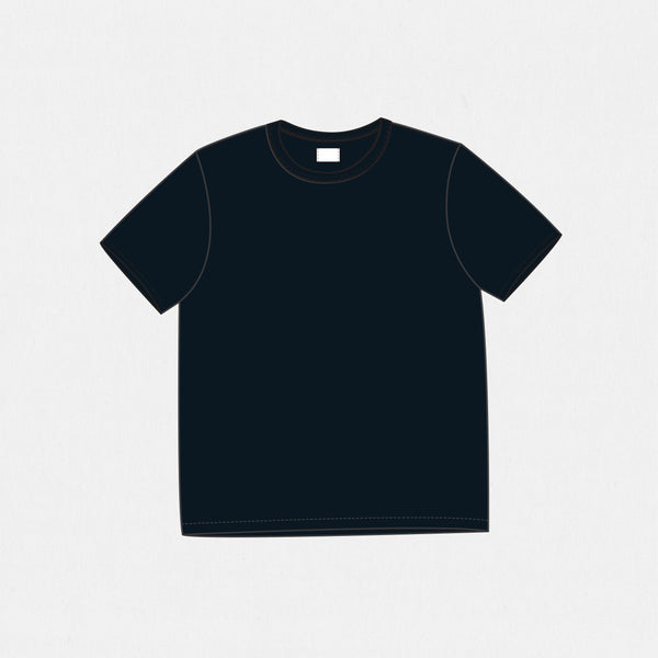 GSS19200BB - Solid Tee - Navy