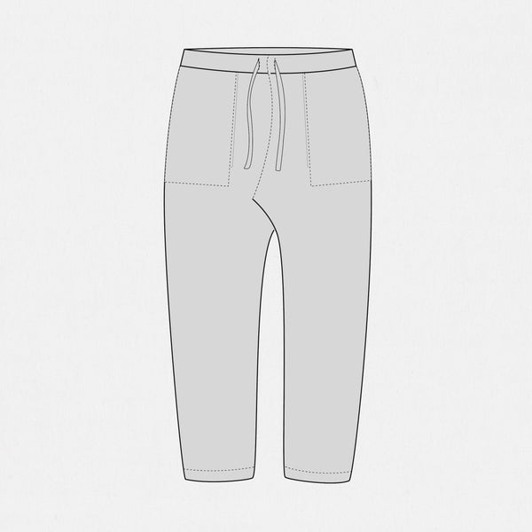 GSS19301FF - Reversible Sweats - Grey / Grey