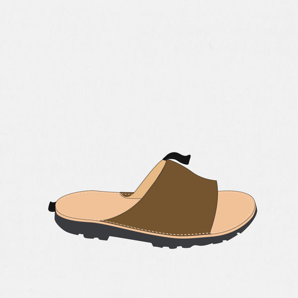 GSS19400AA - Slide Sandals - Ballpark Mustard