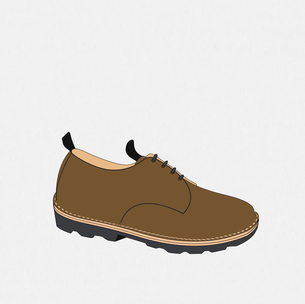 GSS19402CA - Gary's Shoes - Ballpark Mustard