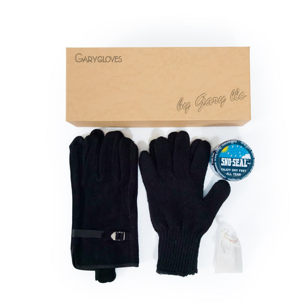 GG-03-B Fancy Glove Set, Black