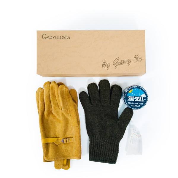 GG-03-G Fancy Glove Set, Gold