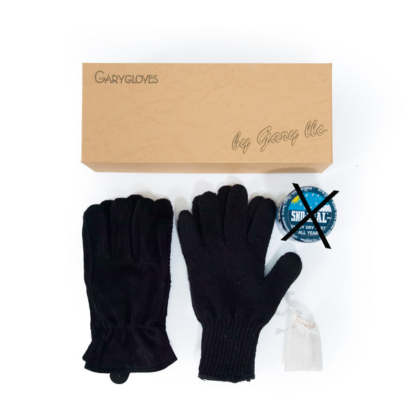GG-02-NB Work Glove Set, Black (NO SNO SEAL)