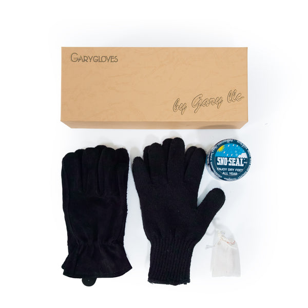 GG-02-B Work Glove Set, Black