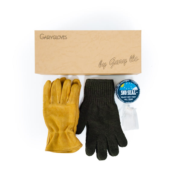 GG-02-G Work Glove Set, Gold
