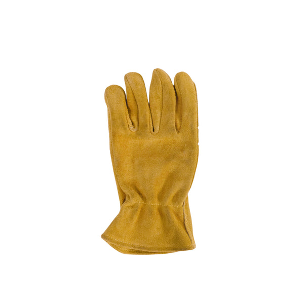 Left Hand Work Glove, Gold