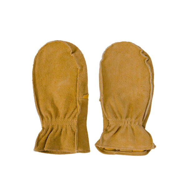 Work Mittens, Gold