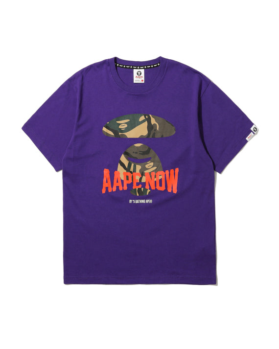 Aape | Aape Tee (M0210) Purple Orange