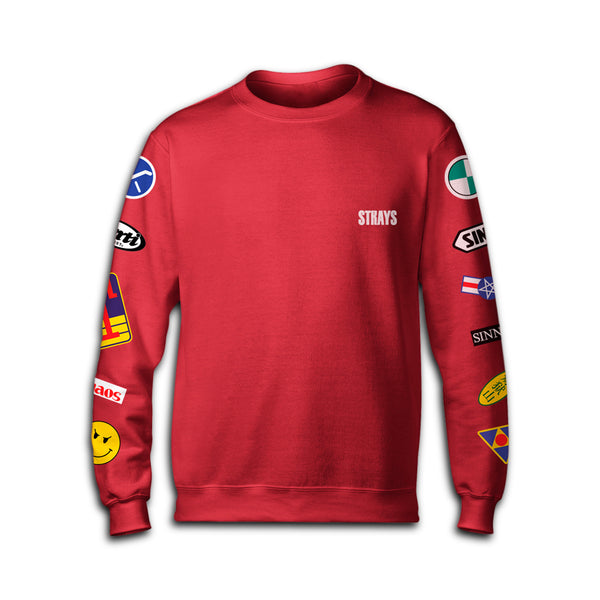 Strays | Kaneda Sweatshirt Red