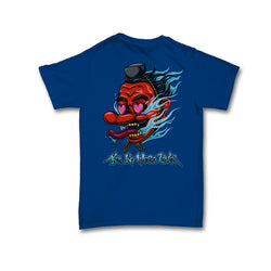 Strays | Tengu Tee Royal Blue