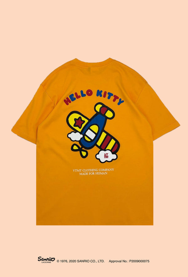 VTMT x Hello Kitty Plane Tee Gold