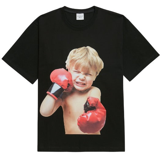 ADLV | Baby Face Boxing Tee Black
