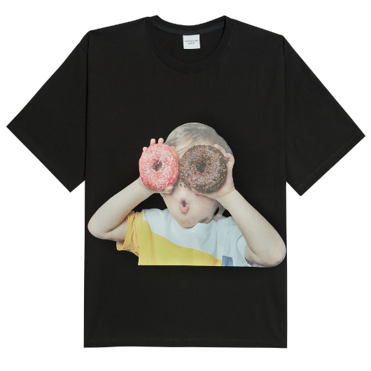 ADLV | Baby Face Donuts Tee Black