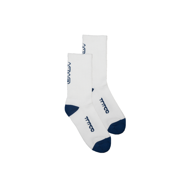 TNTCO | Unearthed Socks White Navy