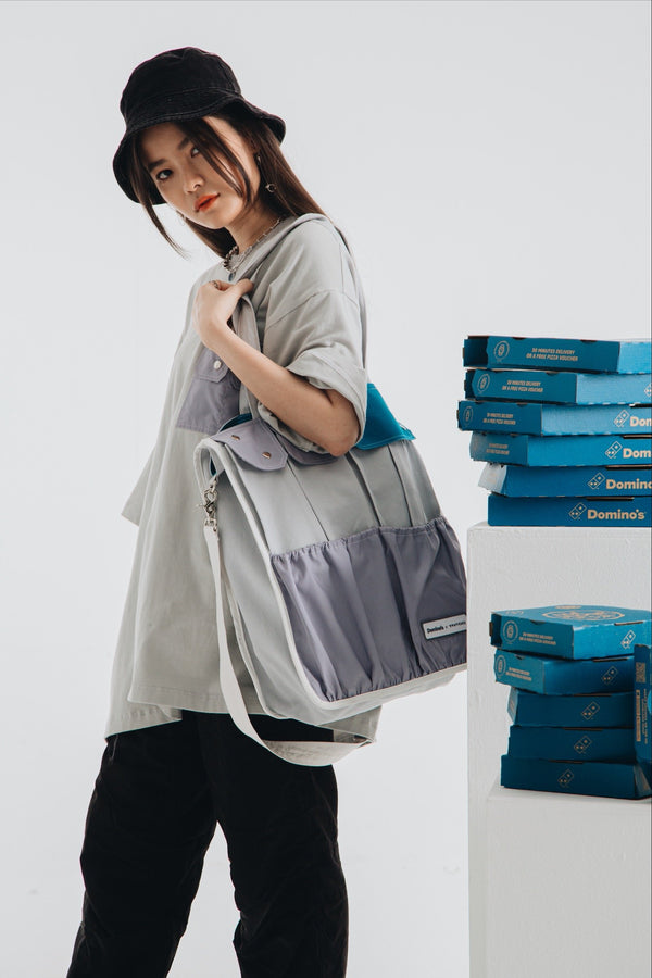 Domino's x TNTCO | Multi Pocket Totebag Grey