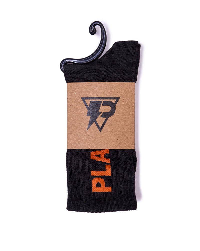 Playaz | 01 Crew Socks Black