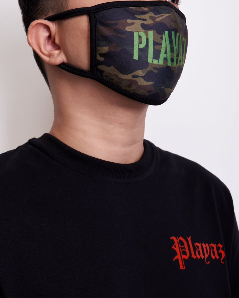 Playaz | Military Mask Green