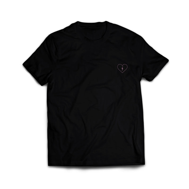 Strays | Hurts Tee Black