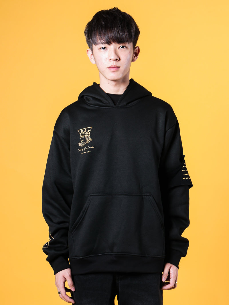 KZ | Patches Hoodie Black
