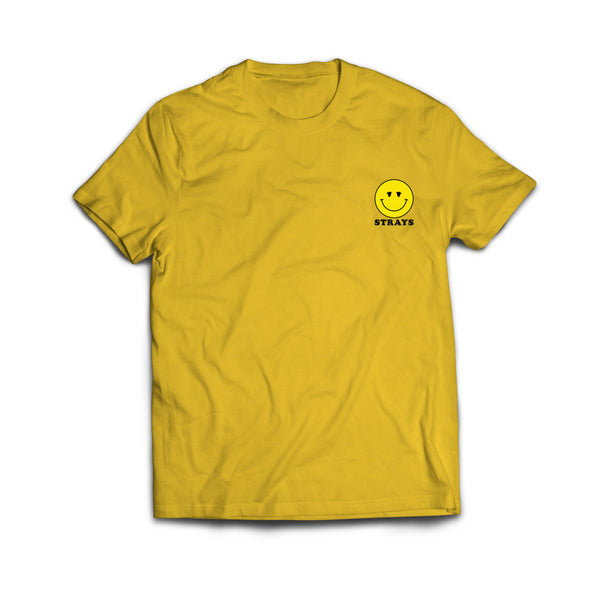 Strays | Happy Tee Yellow
