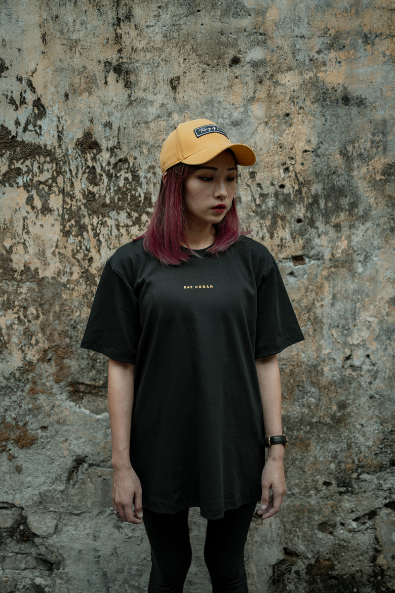 KZ | Patches Tee Black