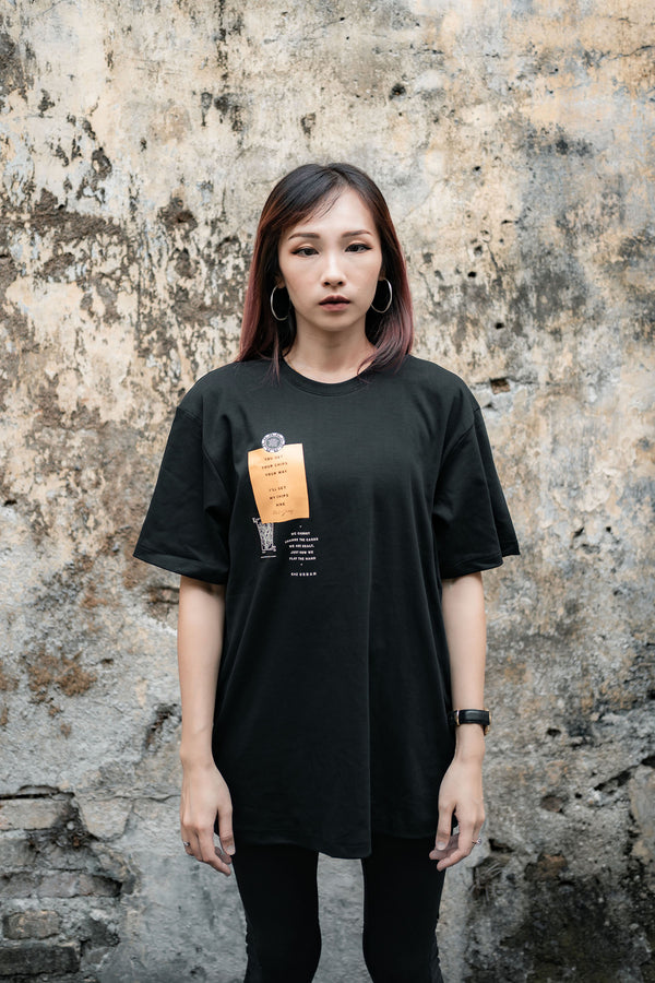 KZ | Patches Spade Tee Black