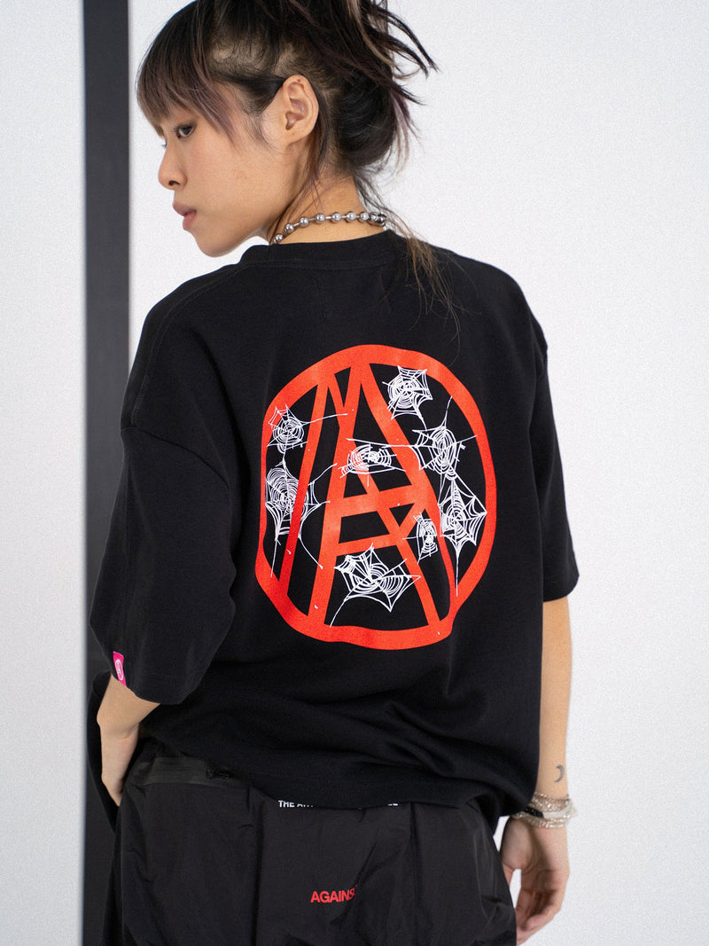 Against Lab | A-Web OG Tee Black