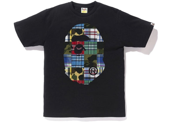 Bape | Patchwork Big Ape Head Tee Black