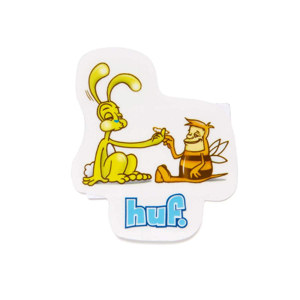 HUF | Best Friends Sticker White
