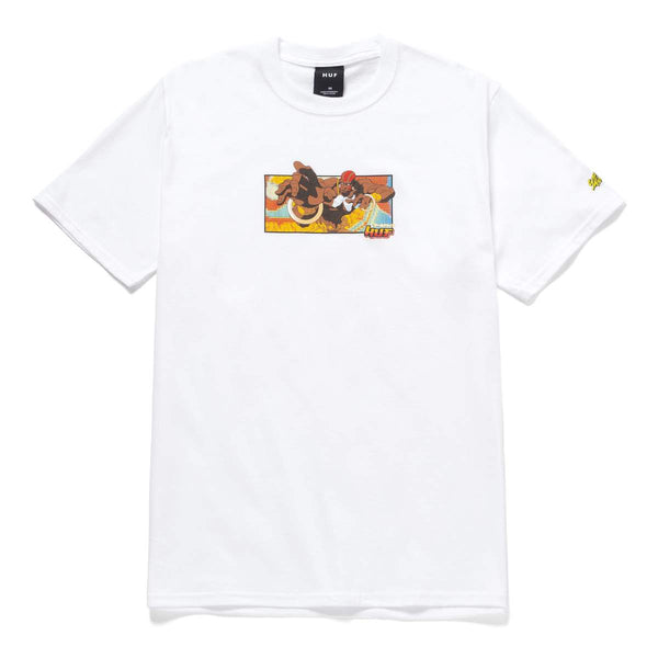 Street Fighter x HUF | Dhalsim Tee White