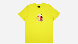 Space | Snack Tee Yellow