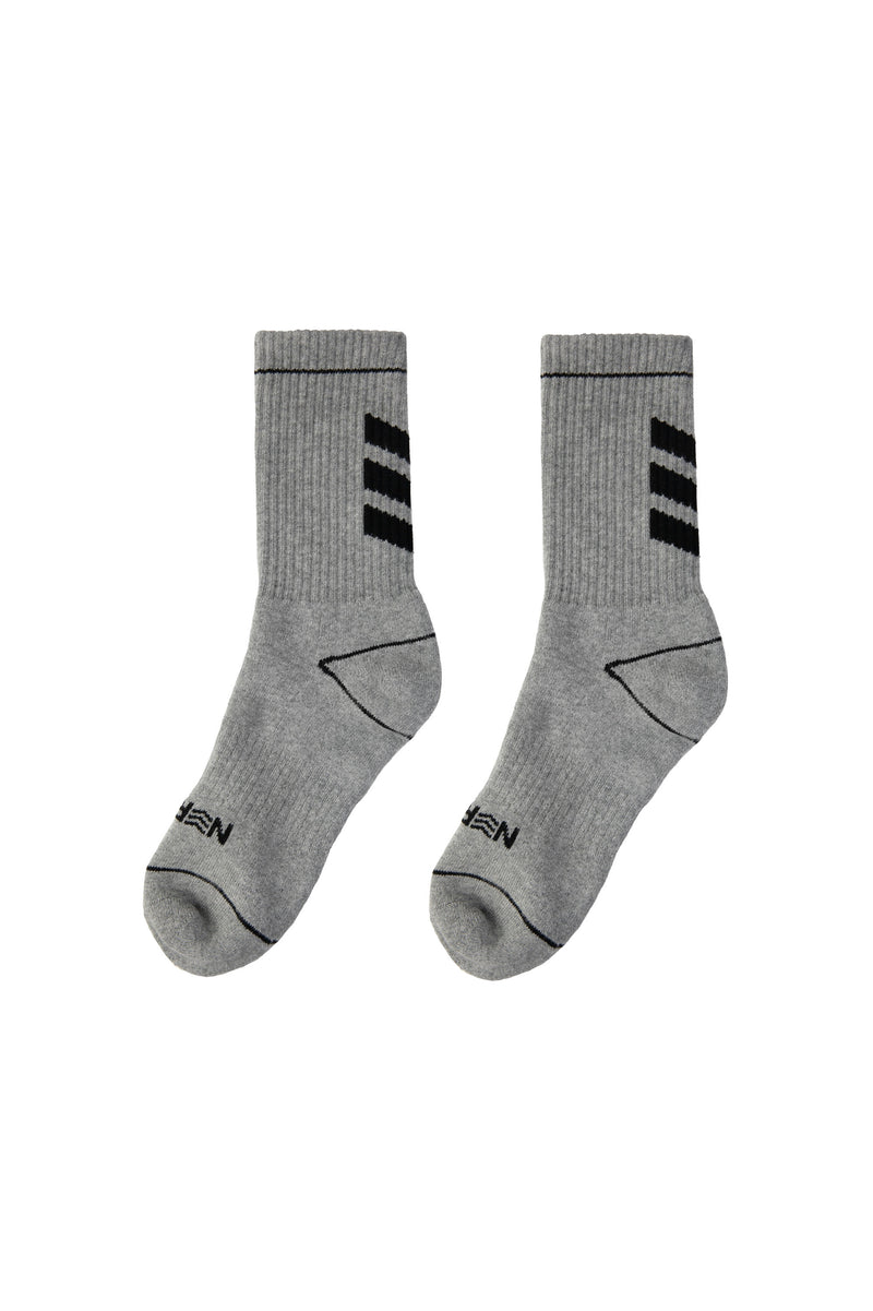 Nerd Unit | Battery Socks Grey