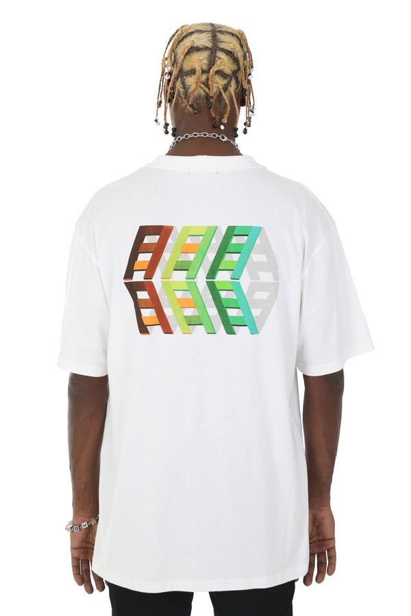 Nerd Unit | Ladder Tee White