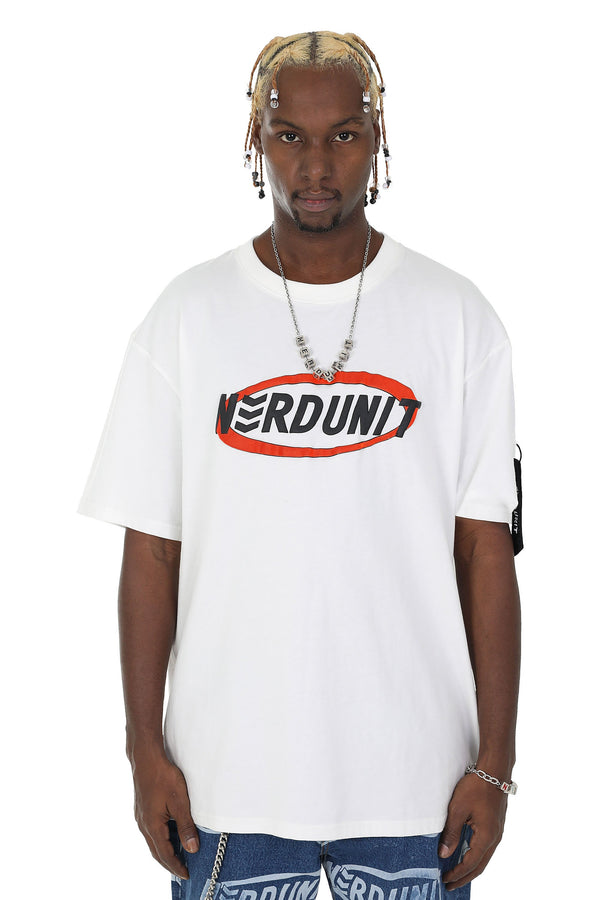 Nerd Unit | Ring Logo Tee White