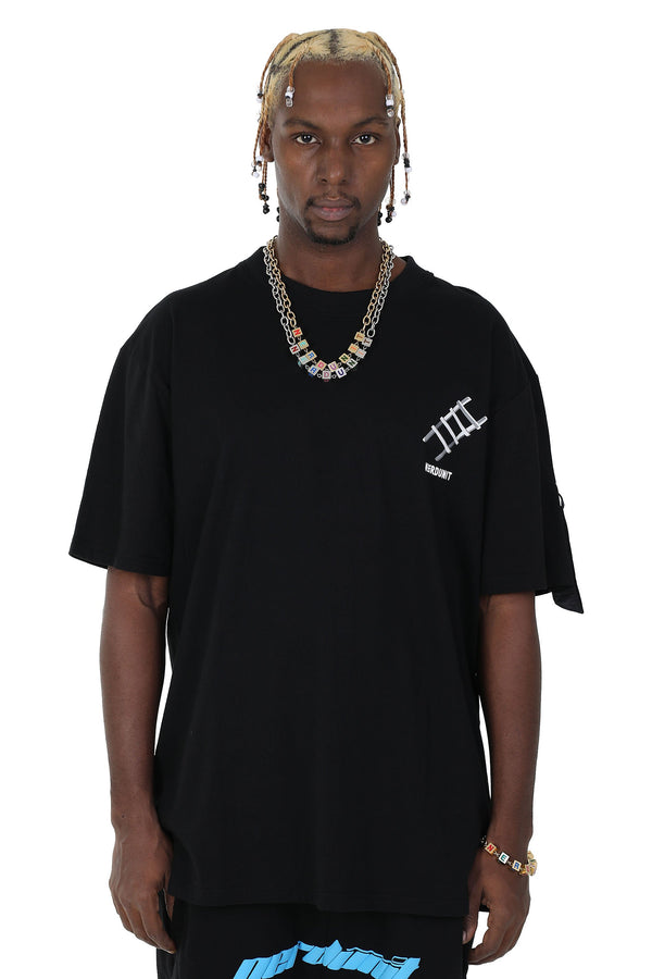 Nerd Unit | Ladder Tee Black
