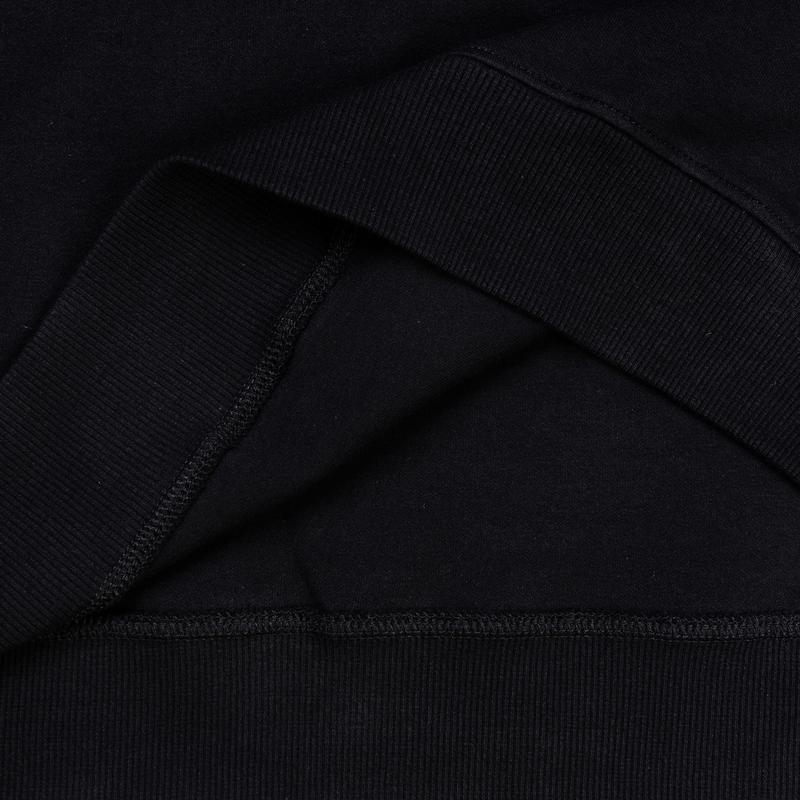 Dr Mister | Essential Cosy Dropped Sweatshirt Black