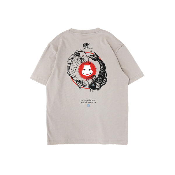 Hippocrate | Exquisite Love For Koi Tee Khaki