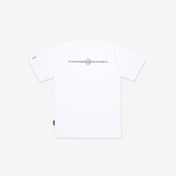 Dr Mister | Essential Thoughts Remain Tee White