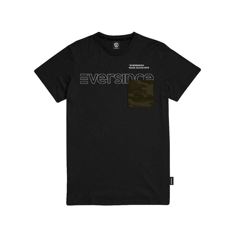Eversince | Camouflage Tee Black