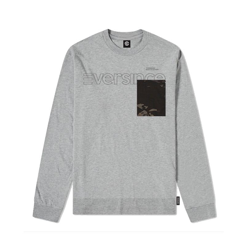 Eversince | Camouflage L S Tee Grey