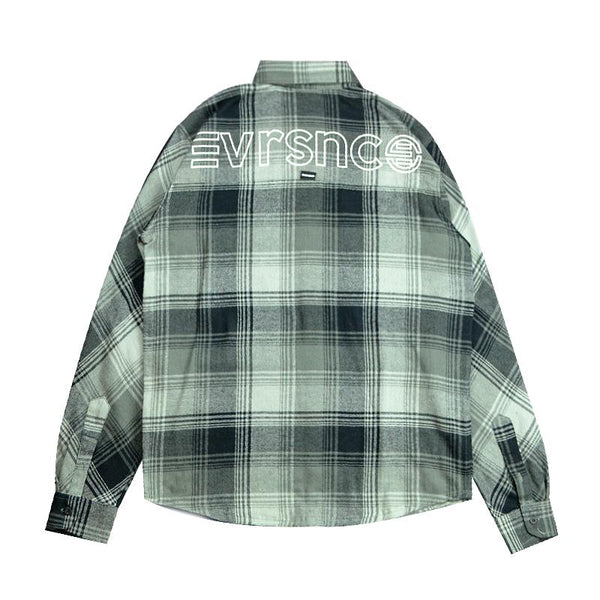 Eversince | Uncover Check Shirt Ash Grey
