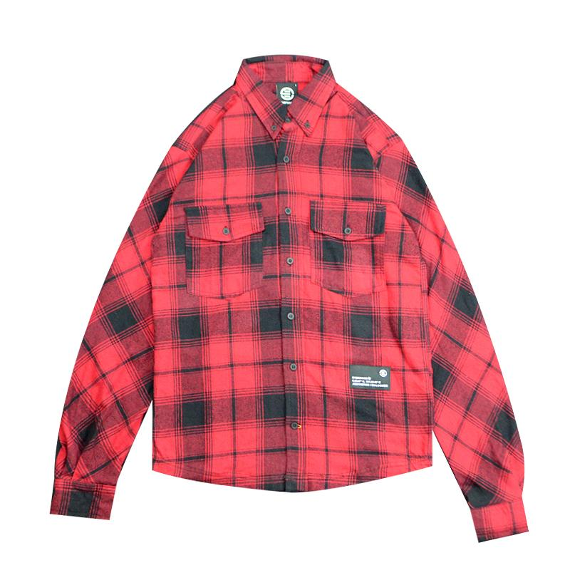 Eversince | Uncover Check Shirt Red