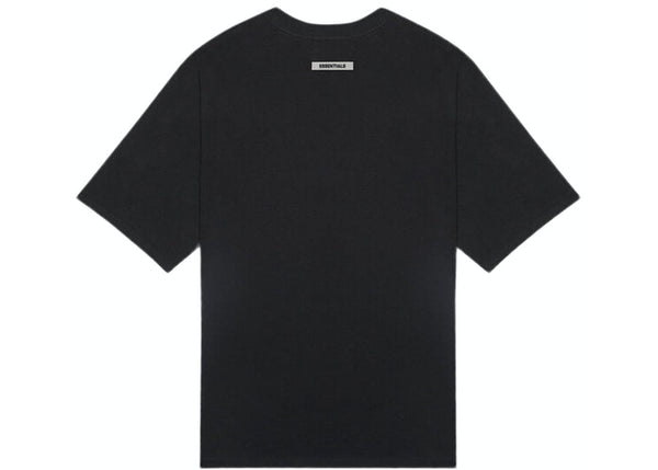 Fear of God Essentials | 3D Silicon Applique Boxy Tee Dark Slate/Stretch Limo/Black